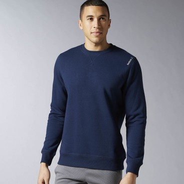 پلیور مردانه ریبوک Reebok Elements Fleece Crew Sweatshirt
