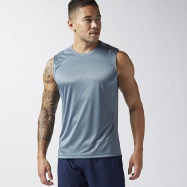 تاپ ورزشی مردانه ریباک Reebok Running Essentials Sleeveless Tank