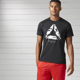 تیشرت ورزشی Reebok Workout Ready Cotton Series Graphic Tee