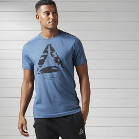 تی شرت ورزشی ریبوک Reebok Workout Ready Cotton Series Graphic Tee