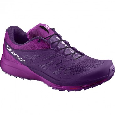 کفش زنانه سالامون بنفش Salomon Sense Pro 2