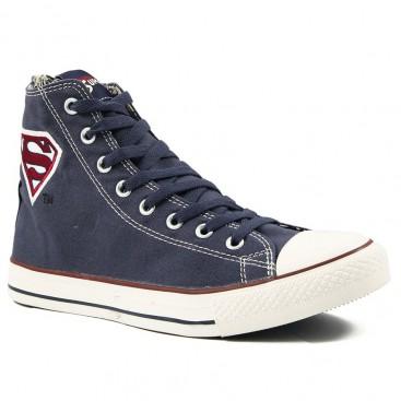 کفش ال استار سرمه ای سوپرمن All Star Converse Superman