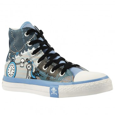 کفش اسنیکر ال استار Converse Pirate Pattern