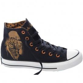 کفش ال استار کانورس سرمه ای Converse X Black Sabbath