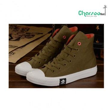 خرید کفش اورجینال 2016 کفش ال استار Converse Suede Star Cedarn
