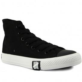 کفش اسنیکر دخترانه Converse Black High Tops