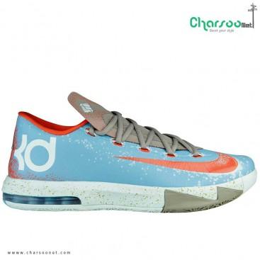 کفش بسکتبال نایک آبی Nike KD VI 6 Maryland