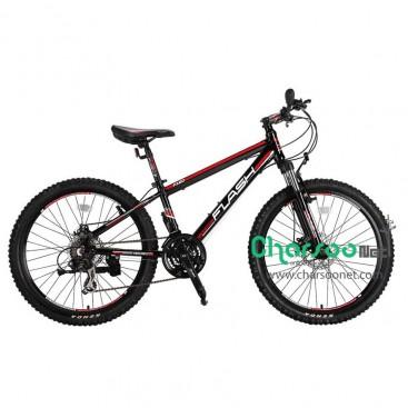 دوچرخه حرفه ای کوهستان Flash کد BYC-00003 سایز 24 مدل 2015