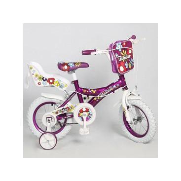دوچرخه بچگانه دخترانه فانتزی bonito بونیتو کد BYC-00084 سایز 12 مدل 2015