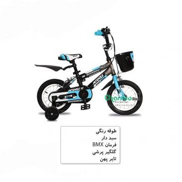 دوچرخه بچگانه دخترانه اینتنس Intense کد BYC-00105 سایز 12 مدل 2016