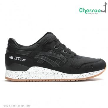 کفش اسیکس ژل لایت مردانه Asics GEL LYTE III All black 2016