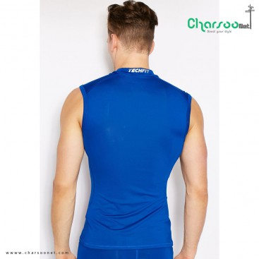 تاپ مردانه Adidas Techfit Compression Sleeveless Top