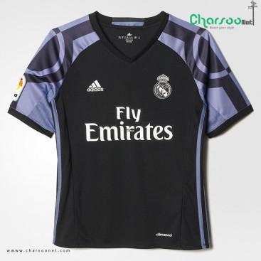 لباس تیم رئال مادرید فصل 2017 Adidas Real Madrid Replica Third Jersey
