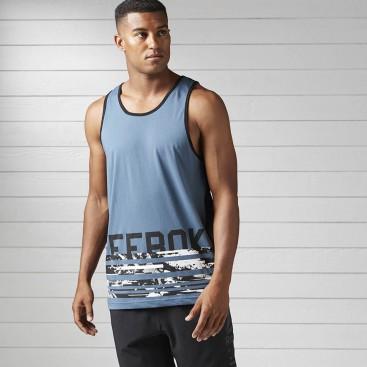 تاپ ورزشی مردانه ریباک Reebok Workout Ready Cardio Tank