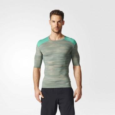 تیشرت ورزشی مردانه adidas Techfit Base Graphic Tee