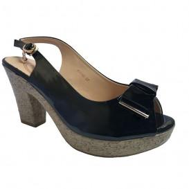 کفش پاشنه بلند زنانه مشکی