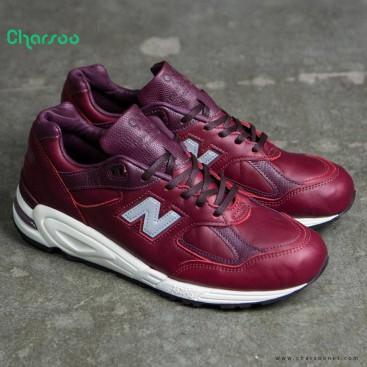 کفش چرم مردانه نیوبالانس New Balance M990 Made In USA