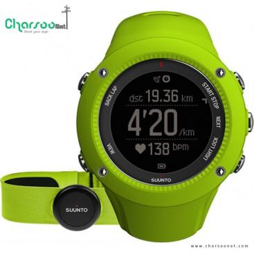 ساعت ورزشی سونتو AMBIT3 RUN LIME (HR)