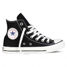 کتانی کانورس Converse High Top Optical Black Canvas