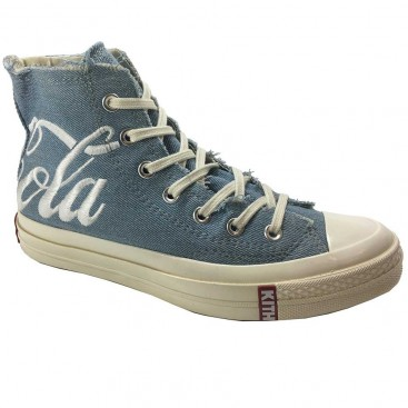 کفش کانورس چرم صورتی Converse All Star Leather