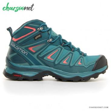کفش کوه نوردی زنانه سالومون Salomon X Ultra 3 MID GTX