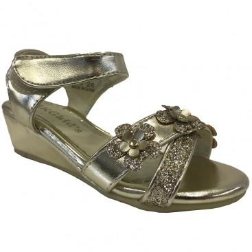 کفش مهمانی دخترانه طلایی