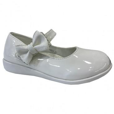 کفش چرم دخترانه مدل کلاسیک