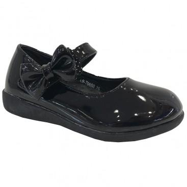 کفش چرم بچگانه مدل پاپیونی