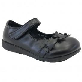 کفش ورنی بچه گانه گل دار