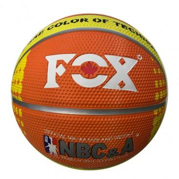 توپ بسکتبال فوکس لاستیکی سایز 5 Fox