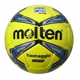 توپ فوتبال مولتن زرد مات سایز 5 Molten