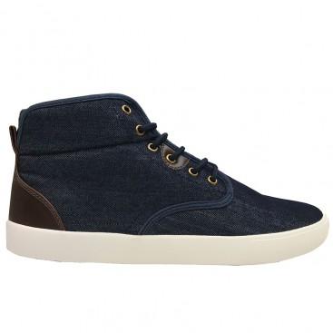 کفش اسنیکر جین مردانه Spanning Mid jean