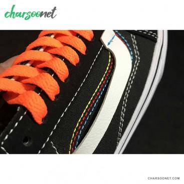 کفش ونس اولد اسکول vans off whit X custom