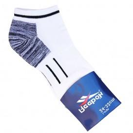 جوراب ورزشی طرح ریباک سفید مچی