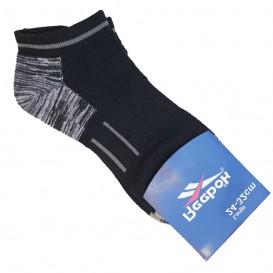 جوراب ورزشی طرح ریباک مشکی مچی