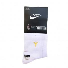 جوراب ورزشی طرح نایک سفید ساق بلند