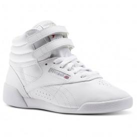 کفش نیم ساق زنانه چرم ریباک Reebok Freestyle Hi سفید