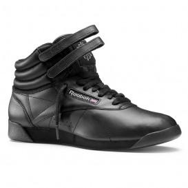 کفش ریباک چسبی زنانه ساقدار مدل Reebok Freestyle مشکی