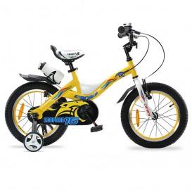 دوچرخه شهری قناری مدل Leopard سایز ۱۶ رنگ زرد