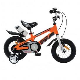 دوچرخه شهری قناری مدل Space No.1 سایز 16 رنگ نارنجی