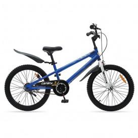 دوچرخه شهری قناری مدل Freestyle سایز 20 رنگ آبی