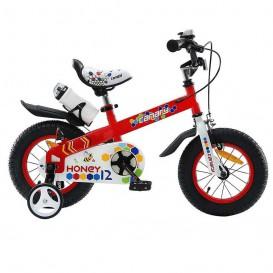 دوچرخه شهری قناری مدل Honey سایز 12 نارنجی
