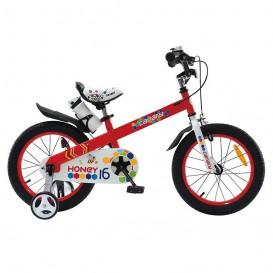 دوچرخه شهری قناری مدل Honey سایز 16 نارنجی