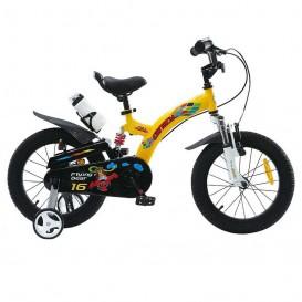 دوچرخه شهری قناری مدل Flying Bear سایز 16 رنگ زرد