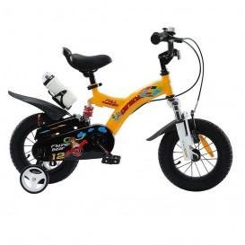 دوچرخه شهری قناری مدل Flying Bear رنگ زرد سایز 12