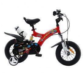 دوچرخه شهری قناری مدل Flying Bear سایز 12 رنگ قرمز