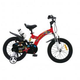 دوچرخه شهری قناری مدل Flying Bear سایز 16 قرمز