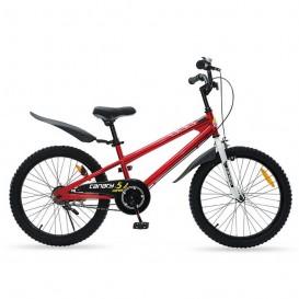 دوچرخه شهری قناری مدل Free style سایز 20 قرمز