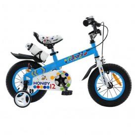 دوچرخه شهری قناری مدل Honey سایز 12 رنگ آبی