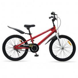 دوچرخه شهری قناری مدل Free Style سایز 20 رنگ نارنجی